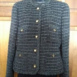Carlisle Tweed Cropped Jacket